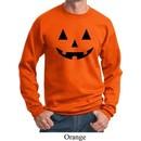 Mens Halloween Sweatshirt Black Jack O Lantern Sweat Shirt