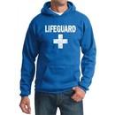 Mens Hoodie Distressed Lifeguard Hoody