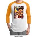 Mens Jimi Hendrix Shirt Hendrix Colorful Raglan Tee T-Shirt