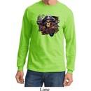 Mens Pirate Shirt Tell No Tales Pirate Long Sleeve Tee T-Shirt