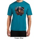 Mens Pirate Shirt Tell No Tales Pirate Moisture Wicking Tee T-Shirt