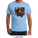 Mens Pirate Shirt Tell No Tales Pirate Organic Tee T-Shirt