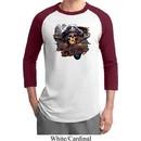 Mens Pirate Shirt Tell No Tales Pirate Raglan Tee T-Shirt