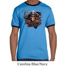 Mens Pirate Shirt Tell No Tales Pirate Ringer Tee T-Shirt