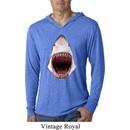 Mens Shark Shirt 3D Shark Lightweight Hoodie Tee T-Shirt
