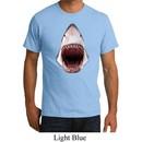 Mens Shark Shirt 3D Shark Organic Tee T-Shirt