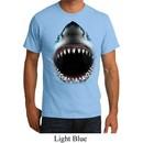 Mens Shark Shirt Big Shark Face Organic T-Shirt