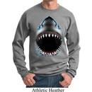 Mens Shark Sweatshirt Big Shark Face Sweat Shirt