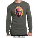 Mens Shirt Albert Einstein Long Sleeve Thermal Tee T-Shirt