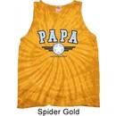 Mens Shirt Papa Tank Tie Dye Tee T-shirt