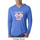 Mens Shirt Protect 2nd Base Lightweight Hoodie Tee T-Shirt