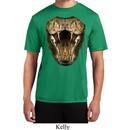 Mens Snake Shirt Big Cobra Snake Face Moisture Wicking Tee T-Shirt