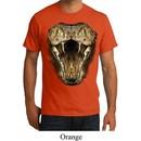 Mens Snake Shirt Big Cobra Snake Face Organic T-Shirt