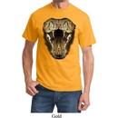Mens Snake Shirt Big Cobra Snake Face Tee T-Shirt