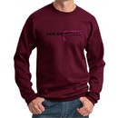 Mens Sweatshirt Breast Cancer Awareness Best Pillows Ever Sweat Shirt