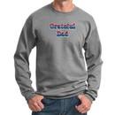 Mens Sweatshirt Grateful American Dad Sweat Shirt