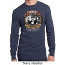 Mens Three Stooges Shirt Moonshine Whiskey Long Sleeve Thermal Tee