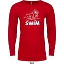 Mens White Penguin Power Swim Thermal Shirt