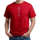 Mens Yoga Shirt 7 Chakras Meditation Organic T-shirt