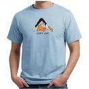 Mens Yoga Shirt Copy Cat Organic Tee T-Shirt