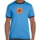 Mens Yoga Shirt Ohm Sun Ringer Tee T-Shirt