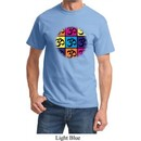 Mens Yoga Shirt Pop Art Om Tee T-Shirt