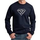 Mens Yoga Sweatshirt Super OM Sweat Shirt