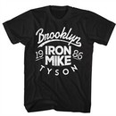 Mike Tyson Shirt Brooklyn 1986 Black T-Shirt