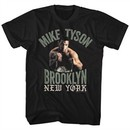 Mike Tyson Shirt Brooklyn New York Black T-Shirt
