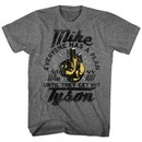 Mike Tyson Shirt Everyone Has A Plan Athletic Heather T-Shirt