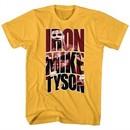 Mike Tyson Shirt Iron Mike Gold T-Shirt