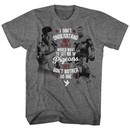 Mike Tyson Shirt Pigeons Are Cool Athletic Heather T-Shirt