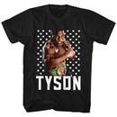 Mike Tyson Shirt Stars Black T-Shirt