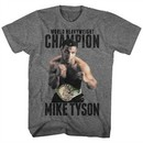 Mike Tyson Shirt Undefeated Athletic Heather T-Shirt