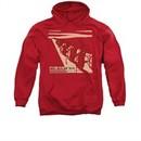 Miles Davis Hoodie Davis And Horns Red Sweatshirt Hoody