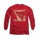 Miles Davis Shirt Davis And Horns Long Sleeve Red Tee T-Shirt