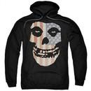 Misfits Hoodie Fiend Flag 2 Black Sweatshirt Hoody
