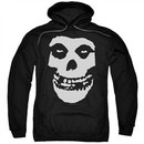 Misfits Hoodie Fiend Skull Black Sweatshirt Hoody