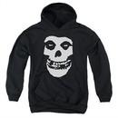 Misfits Kids Hoodie Fiend Skull Black Youth Hoody