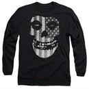 Misfits Long Sleeve Shirt Fiend Flag Black Tee T-Shirt