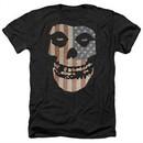 Misfits Shirt Fiend Flag 2 Heather Black T-Shirt