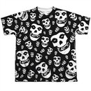 Misfits Shirt Fiends All Over Sublimation Youth T-Shirt Front/Back Print