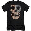 Misfits Slim Fit Shirt Fiend Flag 2 Black T-Shirt