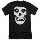 Misfits Slim Fit Shirt Fiend Skull Black T-Shirt
