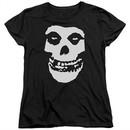 Misfits Womens Shirt Fiend Skull Black T-Shirt