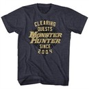 Monster Hunter Shirt Clearing Guest Since 2004 Navy T-Shirt