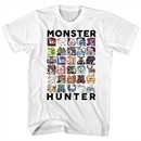 Monster Hunter Shirt Let's Hunt White T-Shirt