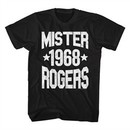 Mr. Mister Rogers Shirt 1968 Black T-Shirt