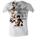 Muhammad Ali T-shirt Adult 3 Poses White Tee Shirt