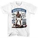 Muhammad Ali Shirt Heavyweight Champion White T-Shirt